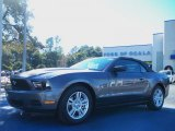 2011 Sterling Gray Metallic Ford Mustang V6 Convertible #42099443