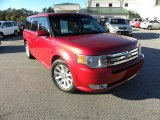 2010 Red Candy Metallic Ford Flex SEL #42099603