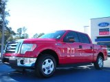 2010 Vermillion Red Ford F150 XLT SuperCrew #42099454