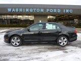 2011 Tuxedo Black Metallic Ford Fusion Sport AWD #42099627