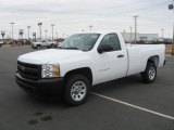 2011 Summit White Chevrolet Silverado 1500 Regular Cab #42099685