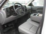 2011 Chevrolet Silverado 1500 Regular Cab Dark Titanium Interior