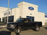 2005 Dark Stone Metallic Ford F350 Super Duty XL Regular Cab 4x4 #42099518