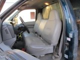 1999 Ford F350 Super Duty XL SuperCab 4x4 Dump Truck Medium Graphite Interior