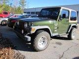 1997 Jeep Wrangler Moss Green Pearl