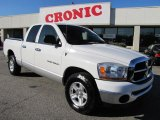 2006 Bright White Dodge Ram 1500 SLT Quad Cab #42099529