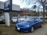 2006 Vivid Blue Pearl Acura RSX Sports Coupe #4212321
