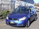 2007 Techno Blue Metallic Suzuki SX4 Convenience AWD #42099836