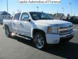 2011 Summit White Chevrolet Silverado 1500 LT Crew Cab #42099843