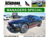 2011 Ebony Black Ford Mustang Shelby GT500 SVT Performance Package Coupe #42133988