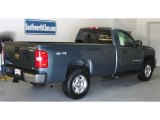 2007 Blue Granite Metallic Chevrolet Silverado 1500 LS Regular Cab 4x4 #42134202
