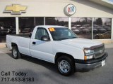 2003 Summit White Chevrolet Silverado 1500 Regular Cab #42134221