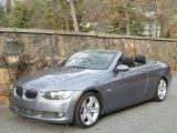2008 Space Grey Metallic BMW 3 Series 335i Convertible #42133896