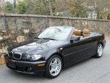 2005 Black Sapphire Metallic BMW 3 Series 330i Convertible #42133899