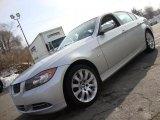 2008 Titanium Silver Metallic BMW 3 Series 335i Sedan #42133744