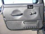 2006 Jeep Wrangler Unlimited Rubicon 4x4 Door Panel