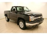 2005 Black Chevrolet Silverado 1500 Regular Cab 4x4 #42188390