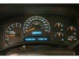 2005 Chevrolet Silverado 1500 Regular Cab 4x4 Gauges