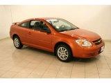2007 Sunburst Orange Metallic Chevrolet Cobalt LS Coupe #42188391