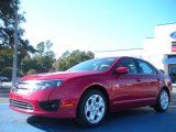 2011 Red Candy Metallic Ford Fusion SE #42187991