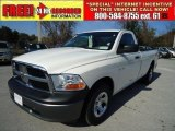 2009 Stone White Dodge Ram 1500 ST Regular Cab #42188460