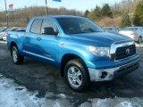 2008 Blue Streak Metallic Toyota Tundra SR5 Double Cab 4x4 #42188506