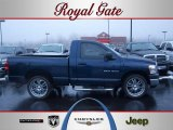 2007 Patriot Blue Pearl Dodge Ram 1500 ST Regular Cab #42187851