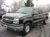 2004 Black Chevrolet Silverado 1500 Z71 Extended Cab 4x4 #42188527