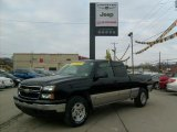 2006 Black Chevrolet Silverado 1500 LT Extended Cab 4x4 #42188098