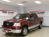 2006 Dark Toreador Red Metallic Ford F150 XLT SuperCrew #42188546