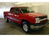 2005 Victory Red Chevrolet Silverado 1500 Z71 Extended Cab 4x4 #42188108