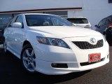2008 Super White Toyota Camry SE V6 #42188578