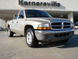 2004 Light Almond Pearl Metallic Dodge Dakota SLT Quad Cab #42244065