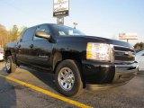 2011 Black Chevrolet Silverado 1500 LS Crew Cab #42243892