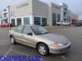 2002 Sandrift Metallic Chevrolet Cavalier Sedan #42243581