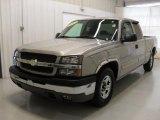 2004 Silver Birch Metallic Chevrolet Silverado 1500 LS Extended Cab #42244154