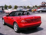 1998 Mercedes-Benz SLK Imperial Red