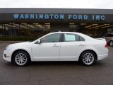 2010 White Suede Ford Fusion SEL V6 AWD #42243959