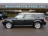 2010 Tuxedo Black Ford Flex Limited EcoBoost AWD #42243960