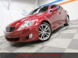 2008 Matador Red Mica Lexus IS 250 #42243800