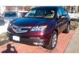 2008 Dark Cherry Pearl Acura MDX Sport #42244003