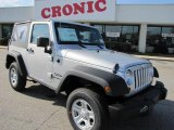 2011 Bright Silver Metallic Jeep Wrangler Sport 4x4 #42243806