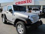 2011 Bright Silver Metallic Jeep Wrangler Sport S 4x4 #42243807