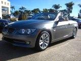 2011 Space Gray Metallic BMW 3 Series 328i Convertible #42243668