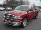 2011 Deep Cherry Red Crystal Pearl Dodge Ram 1500 Big Horn Quad Cab #42244209