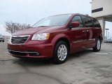 2011 Chrysler Town & Country Deep Cherry Red Crystal Pearl