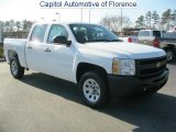 2011 Summit White Chevrolet Silverado 1500 Crew Cab #42296081