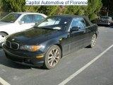2004 Jet Black BMW 3 Series 330i Convertible #42296084