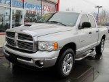 2004 Bright Silver Metallic Dodge Ram 1500 Laramie Quad Cab 4x4 #42296117