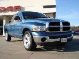 2004 Atlantic Blue Pearl Dodge Ram 1500 SLT Quad Cab #42295994